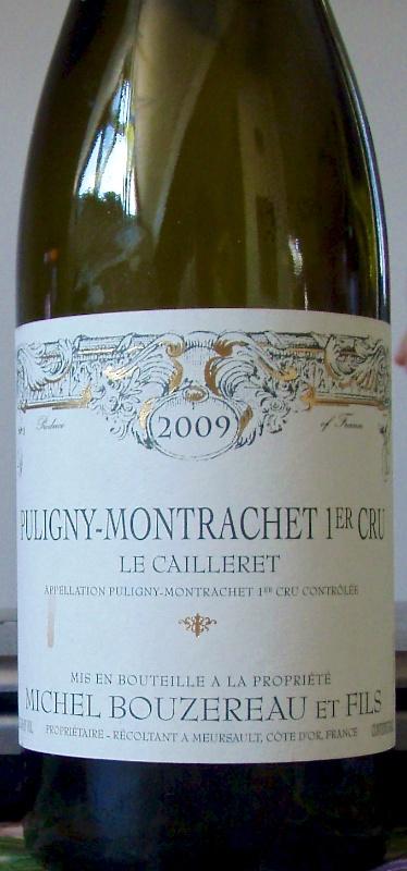 Puligny-Montrachet 1er Cru - Michel Bouzereau et Fils