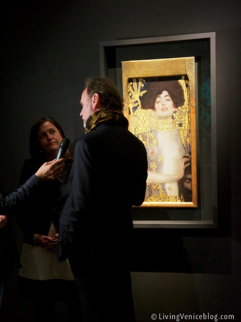Klimt at the Correr, Venice